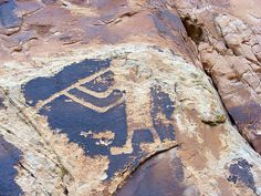Flute Player petroglyph, Dinosaur National Monument