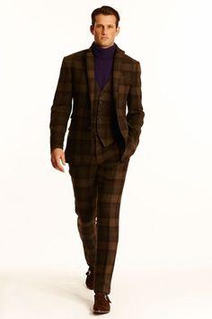 Looks masculins classiques de la Ralph Lauren CollectionAutomne/Hiver pour hommes