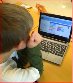 A Coding Breakthrough: My Experience with Coding - Amazing blog post about 3rd graders who are learning to write computer code and are lovin' it!
