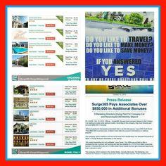 Exclusive Membership Club. www.Surge365.com/OhenewaaTravel  #JoinToday