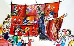 Lele Luzzati, il Disegnastorie