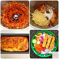 A yummy kids meal that you could serve for breakfast, lunch or dinner  Ingredients: 80g cheddar cheese (grated) 1 tsp concentrated vegetable stock 100g carrot (peeled) 100g sweet potatoes 1 medium zucchini 1/2 red pepper (capsicum) 2 spring onions 1 tbs olive oil 1tbs plain four 6 eggs Thermomix Recipes Healthy, Veg Recipes, Whole Food Recipes, Vegetarian Recipes, Healthy Kids Party Food, Easy Dinners For Kids, Baby Cooking, Vegetarian Kids, Toddler Meals