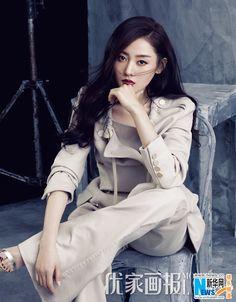 Actress Zhang Tianai  http://www.chinaentertainmentnews.com/2016/04/zhang-tianai-covers-fashion-magazine_13.html