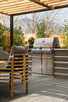 It's no secret that Texans love to grill. Become the grillmaster of your domain and pretend you have your own cooking show --> http://www.hgtv.com/design/hgtv-smart-home/2015/deck-pictures-from-hgtv-smart-home-2015-pictures?soc=smartpin