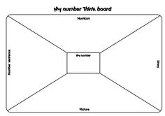 Try this Numicon Think Board with your class. A great way to reinforce multiple representations of number concepts.