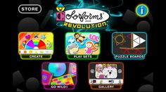 Colorforms® Revolution™ for iPhone #Colorforms #Creativity