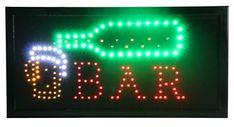 Neon Signs, Beer, Stars