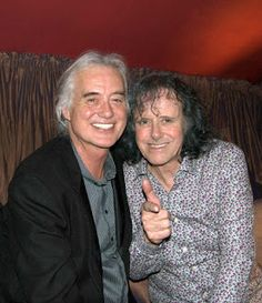 MAGE MUSIC: 03 June 2011 Jimmy Page & Donovan at Gore Hotel celebration after the Royal Albert Hall concert