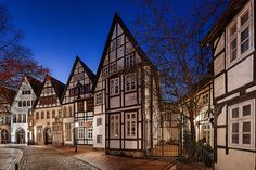 Ritterstraße Minden Wanderlust, Mansions, House Styles, Photography, Germany, Europe, Environment, Photograph, Fotografie