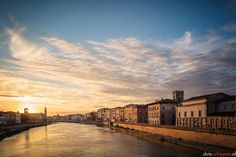 Photograph Pisa, River Arno by Chris Schippers on Arno, Pisa, New York Skyline, Photograph, River, Beautiful, Cities, Photography, Photographs