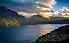 Mountains clouds landscapes nature lakes trey ratcliff queenstown (2560x1600, clouds, landscapes, nature, lakes, trey, ratcliff, queenstown)  via www.allwallpaper.in