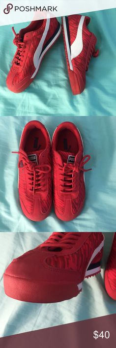 Puma Like new. Literally only worn once. Size women's 7.5
