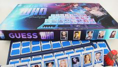 Awesome DIY Dr. Who Guess Who game.  Has great tut on how to make your own.