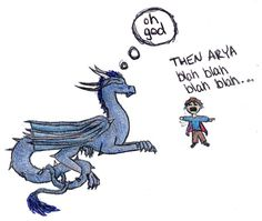 Saphira has to put up with A LOT xD Eragon is Annoying Eragon Saphira, Inheritance Cycle, Christopher Paolini, Dragon Series, Wings Of Fire, Book Memes, How To Train Your Dragon, Book Fandoms, Book Of Life