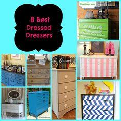 8 Fabulous DIY Dresser Makeovers
