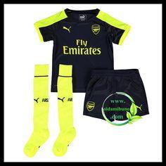 Fotballdrakter Arsenal FC Barn Tredjedraktsett 2016-2017