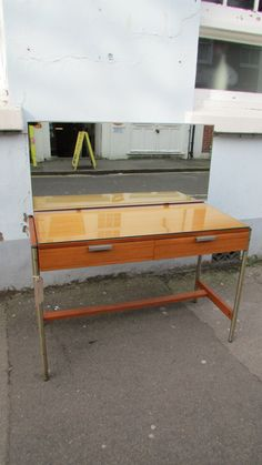1960's Stag 'S Range' Desk/Dressing Table by John and Sylvia Reid by EraBrighton on Etsy https://www.etsy.com/listing/221029988/1960s-stag-s-range-deskdressing-table-by
