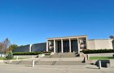 Truman Library...Jake and I pass this everyday.  Plan on actually going in next week!  :)