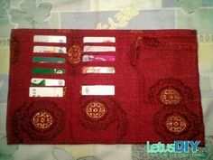 Homemade chinese style wallet -----LetusDIY.ORG