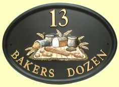 Bread for a bakers sign