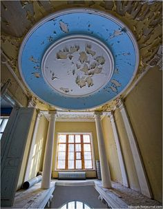 An Abandoned Mansion of Russia's Wealthy