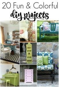 Get Your DIY On – Colorful DIY Projects Features