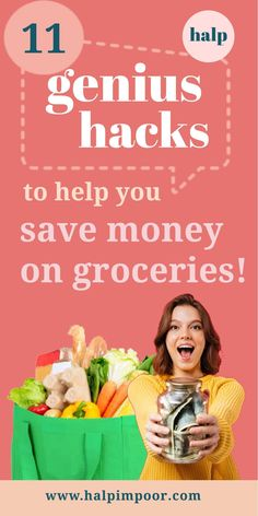 Here are just a few tips on how to save money on groceries. By the end of this article, you'll be familiar with all the ways people pinch pennies while strolling through the aisles. #savingmoneytips #frugalliving #personalfinance #savemoneyongroceries Save Money On Groceries, Ways To Save Money, Money Tips, Money Saving Tips, Living On A Budget, Family Budget, Frugal Living, Best Loans, Good Credit Score