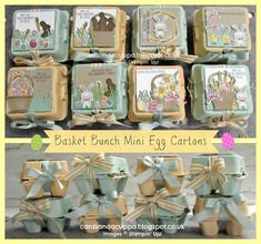 Sarah-Jane Rae cardsandacuppa: Stampin' Up! UK Order Online 24/7: Easter Treats for a Jems Blog Hop