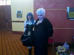 Ursula and myself at the SabotenCon