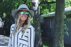 Springtime grey is the jam - and so is a hat for $12.50