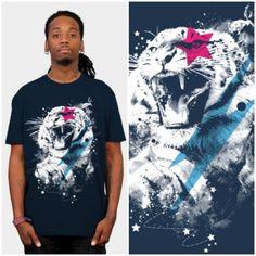 Thunder tiger #tee #men #graphics