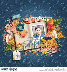 Digital scrapbook page by SeattleSheri using Everyday Blessings by Kristin Cronin-Barrow