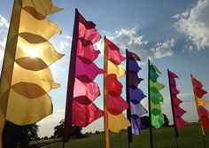 Are you are thinking of a festival-themed wedding or a more classic traditional celebration? Our stunning flags and bunting will make your festival wedding stand out from the rest! Festival Themed Party, Festival Wedding, Festival Camping, We Are Festival, Art Festival, Wedding Bunting, Wedding Decor, Event Decor, Land Art
