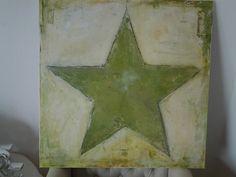 stern, acryl öl bild, kunstwerk, acrylbild,  von für dich ** auf DaWanda.com