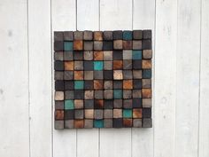 Wood Wall Art Reclaimed Wood Sculpture от WallWooden на Etsy