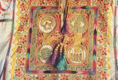 Palestinian wedding dress embroidery