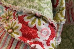 DIY: Flannel Baby Rag Quilt                This is the softest little quilt made of flannel.  The best part about it is how dang easy it is...