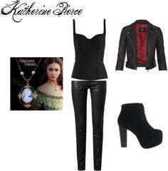 """""""Katherine Pierce"""" by rebecca-fitzpatrick on Polyvore"""