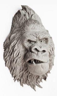Gorilla clay by IgorGosling