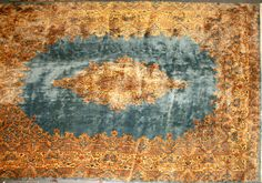 Kerman carpet South Central Persia circa 1930 size approximately 10ft. x 14ft. 2in.