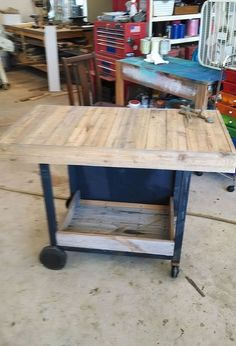 repurposed old rusted grill to outdoor table, outdoor living, repurposing upcycling