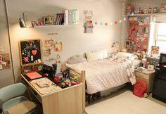 korean bedroom decor uni dorm inspo teen cozy decoration bedrooms visit apartment lovemesonaturally interior college