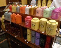 twg tea tin