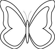 Butterfly Black White Flower Shrub xochi info SVG xochi ClipArt Best ClipArt Best Butterfly clip art Butterfly black and white Butterfly line drawing