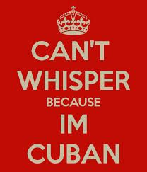 Can't whisper....