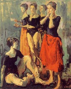 Dancers. Moses Soyer