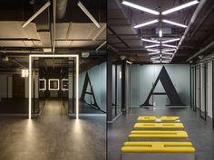 HUB 4.0 office by Nika Vorotyntseva, Kiev – Ukraine » Retail Design Blog