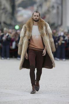 Fall-Winter Fur Coats For Men 2018