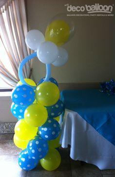 Balloon Coumns Decorations