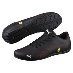 premium selection 4c6d6 f60b1 Image 1 of Ferrari Drift Cat 5 Ultra Men s Shoes, Puma Black-Rosso Corsa